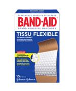 Pansements en tissu flexible