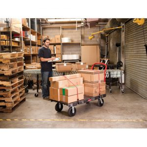 Chariot plateforme Rubbermaid