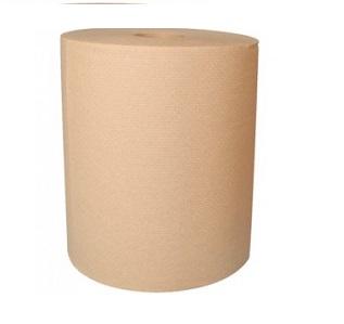 Papier Essuie-mains en Rouleaux Jumbo Naturel 800 pi