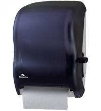 DH37 Cascades PRO Distributrice universelle à Levier pour papier essuie-mains en rouleau.