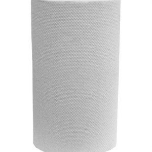 Papier Essuie-mains en Rouleaux Blanc 205 pi