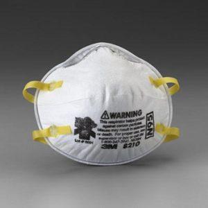 Masque à poussière 3M N95 # 8210