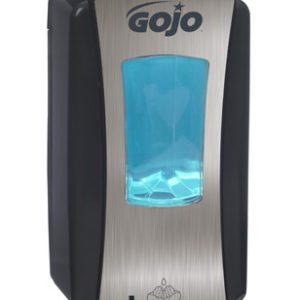LTX-12 Distributeur sans contact de savon à mains Gojo Chrome Brossé-Noir