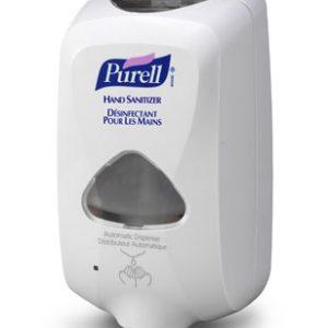 TFX distributeur Purell sans contact