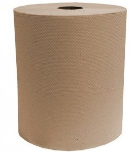 Papier Essuie-mains en Rouleaux Jumbo Naturel 400 pi