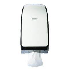 Boîte distributrice de papier hygiénique et mouchoir Kimberly-Clark Professional* MOD* CODE 40407