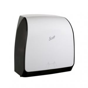 47091Scott MOD distributrice essuie-mains en rouleau Slimroll compacte, blanche