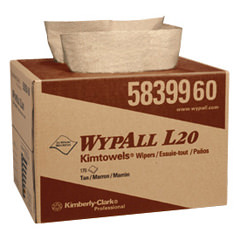 WYPALL L20 Chiffons de Kimberly-Clark # 58399