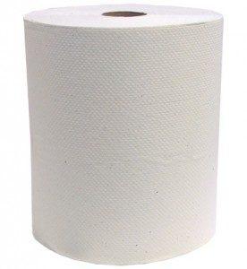 Papier Essuie-Mains en Rouleaux Jumbo Blanc 600 pi
