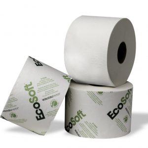161990 EcoSoft® OptiCore® Papier hygiénique en rouleaux haute capacité