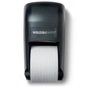 82300 DublServ® Distributrice de papier hygiénique double Verticale Noir