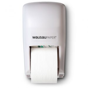 82360 DublServ® Distributrice de papier hygiénique double verticale Blanche
