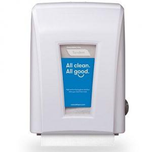 C225 Cascades PRO Tandem Distributrice de papier essuie-mains sans contact