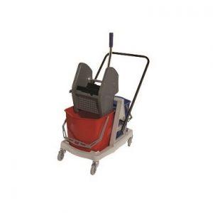 Seaux (2)/Essoreuse Combo avec chariot PERFORME 34 Litres