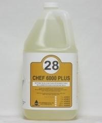 CHEF-6000 PLUS BOD nettoyant puissant pour friteuse et plaques de cuisson