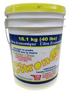 Citranet détersif en poudre pour lessive