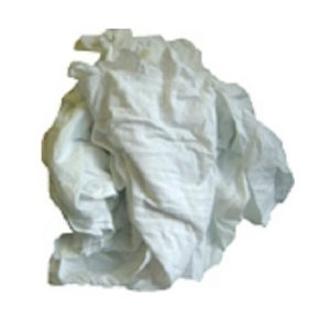 Guenilles/Chiffons de draps de coton blanc