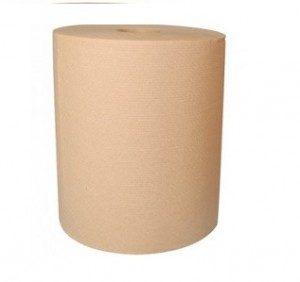 Papier Essuie-mains en Rouleaux jumbo Naturel 600 pi