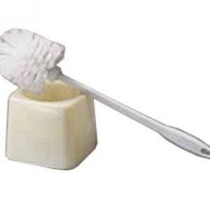 Brosse de toilette avec son réceptacle