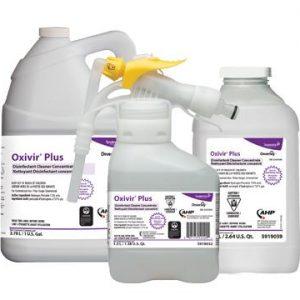 Oxivir Plus Nettoyant désinfectant concentré au peroxyde d'hydrogène