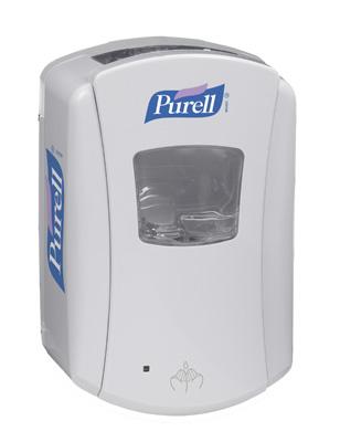 LTX-7 Distributeur Sans contact de désinfectant Purell Blanc-Blanc