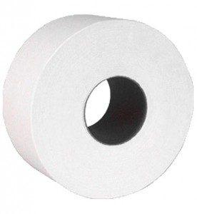 Papier Hygiénique JUMBO en rouleaux Géants, 2 épaisseurs, 1000 pieds.