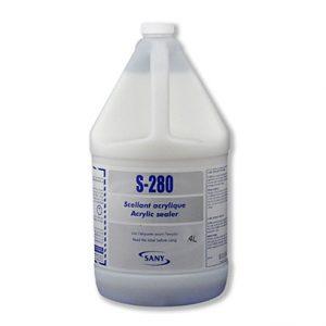 S-280 est un agent de scellement pour les couvre-sols