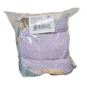 Guenilles/Chiffons coton ouaté assorties en sac