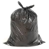 Sacs à ordures industriels 24 X 22 Noir Régulier. 500/cs