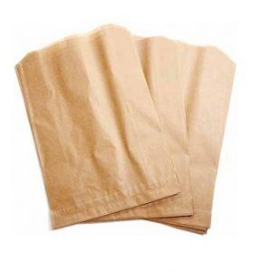 Sacs en papier ciré pour poubelle à serviettes sanitaires souillées
