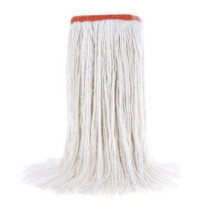 Vadrouille humide en rayonne bande étroite pour laver les planchers.