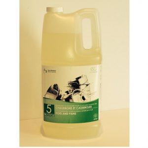 Nu-Cylce 5 Détergent pour lavage manuel de chaudrons et casseroles