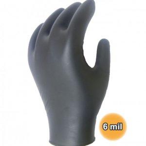 Sentron gants d'examen en Nitrile Noir (NOUVEAU) Sans poudre