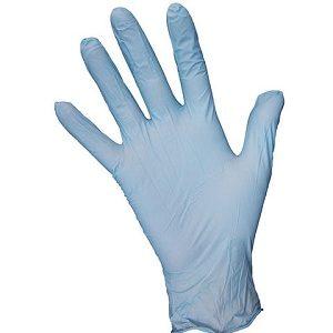 gant-nitrile-sans-poudre-bleu Photo