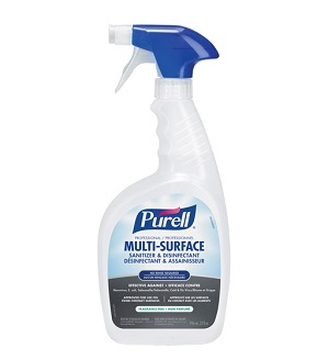 Purell assainisseur de surface photo